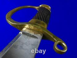 Russie Impériale Russe Ancienne Ww1 Shashka Sword