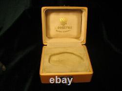 Sculpture Impériale Russe D'animal Miniature Dans La Conception En Bois De Faberge De Boîte